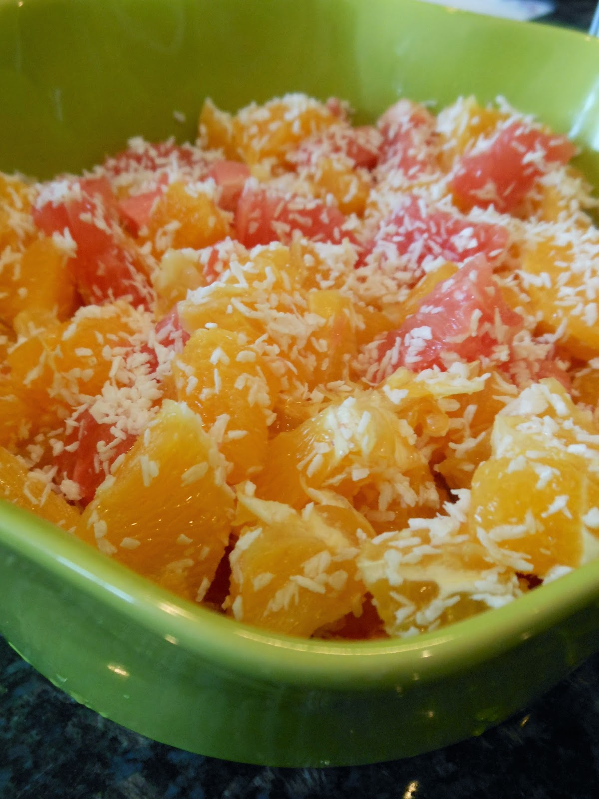 Citrus Coconut Salad