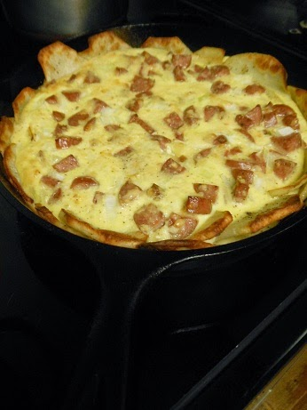 Potato Crust Cast Iron Quiche